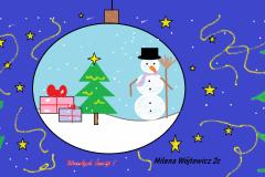 Kartka od Milenki Wójtowicz klasa 2c