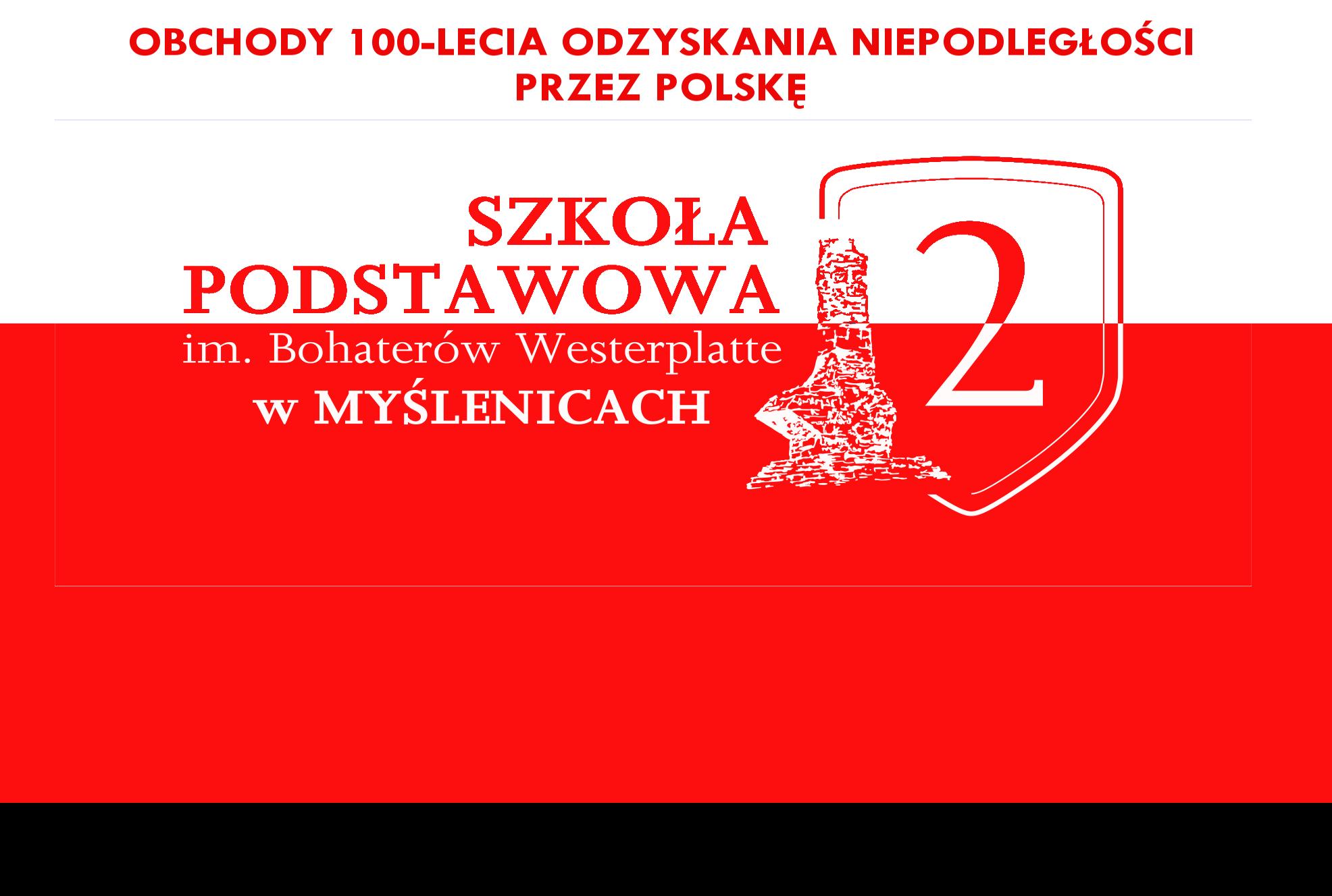 Harmonogram obchodów 100-lecia odzyskania Niepodległości przez Polskę