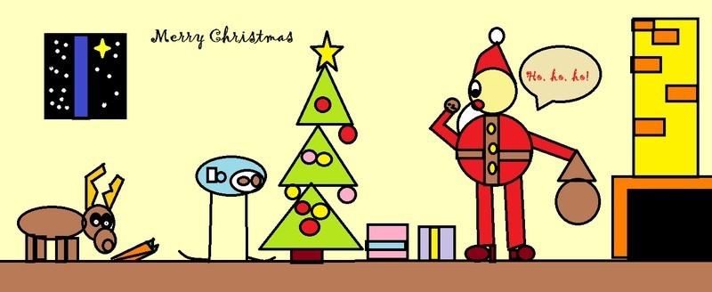 kartka świąteczna Ania Tondera kl 3a